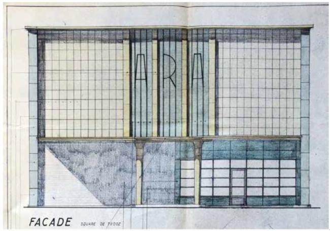 175_station-service-sur-le-site-en-1956-Architecte-JH-Detiege