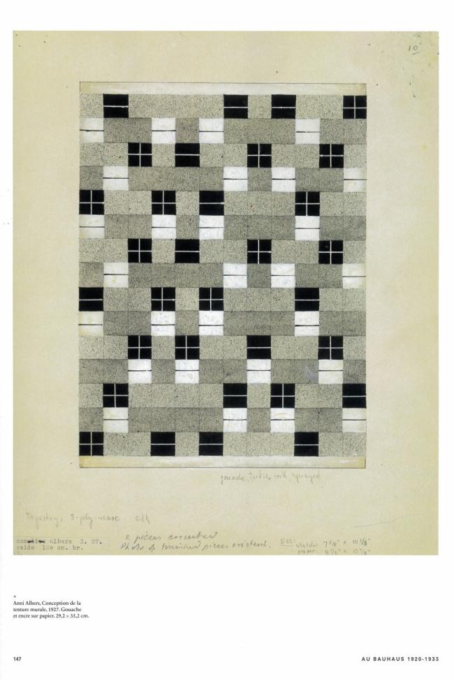 084_ANNI-ALBERS_Conception-de-la-tenture-murale_gouache-sur-encre-papier_1927