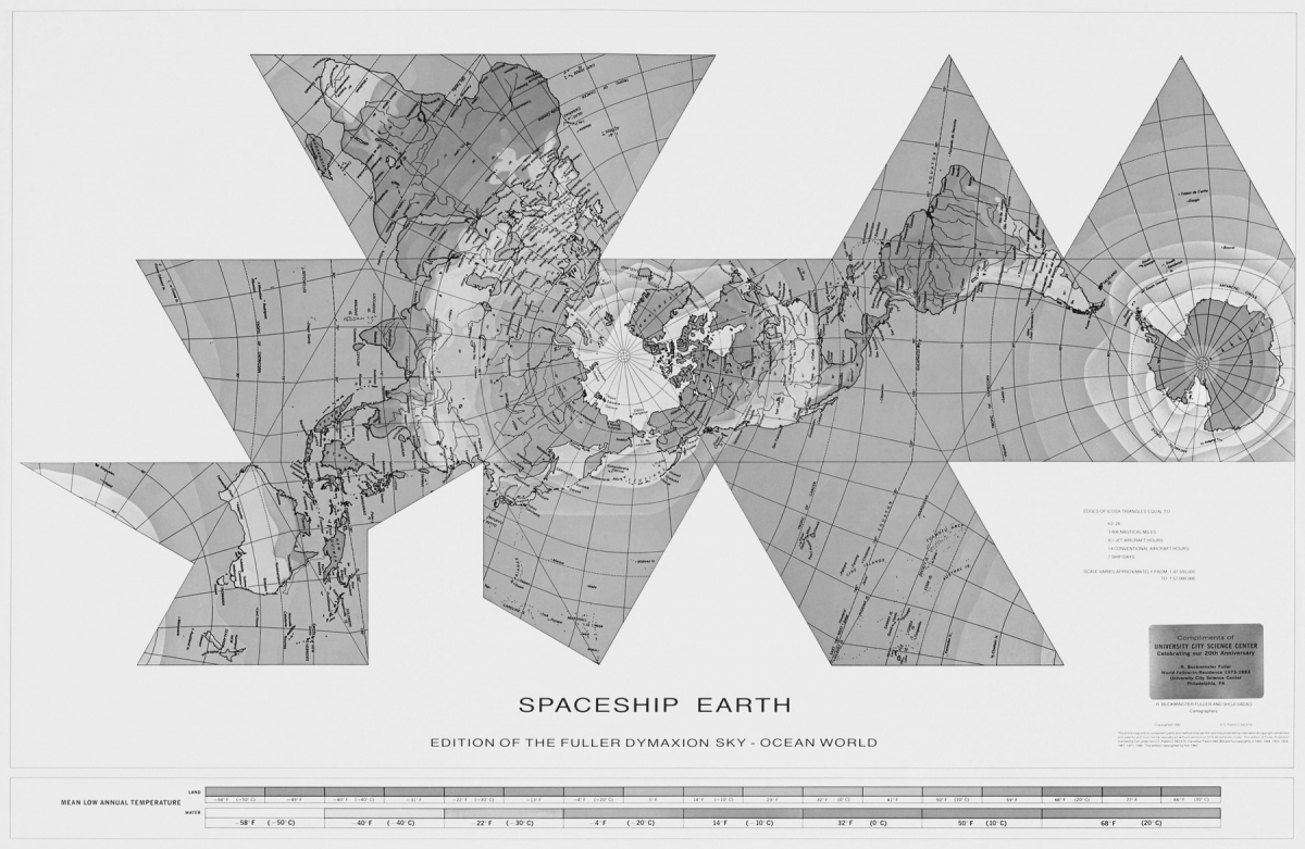 RICHARD-BUCKMINSTER-FULLER-DYMAXION-WORLD-MAP_1946-1954